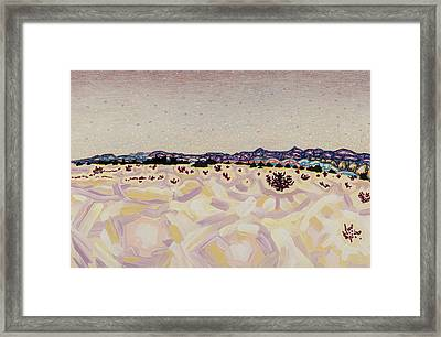 Atomic Meadow Framed Print by Dale Beckman