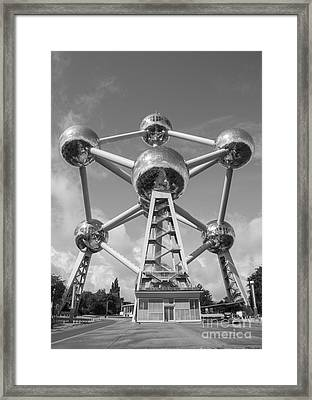 Atomium Framed Print by Juli Scalzi