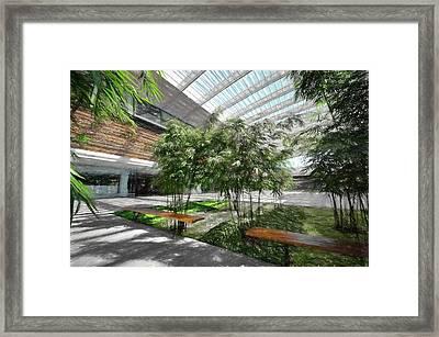 Atrium Framed Print by Brian Goodwin