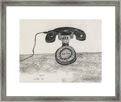 ATT Framed Print by Robert Wittig