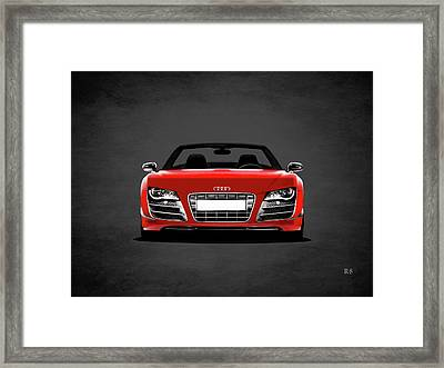 Audi R8 Framed Print by Mark Rogan