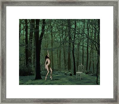 Audience Of One Framed Print by Van Renselar