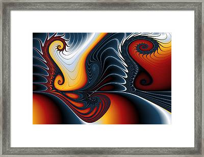 Augmented Gnarls.no. 2 Framed Print by Mark Eggleston