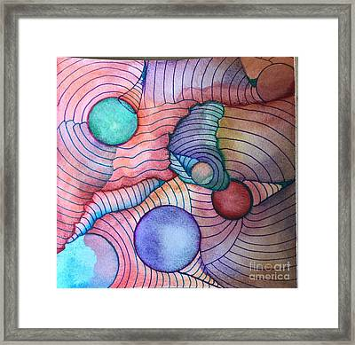 Aura Framed Print by Laurie Cairone