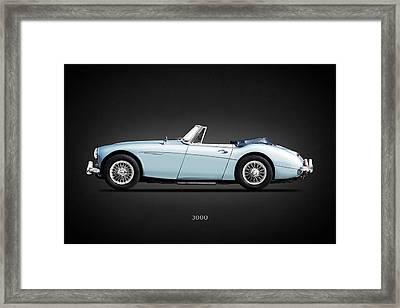 Austin Healey 3000 Mk3 Framed Print by Mark Rogan