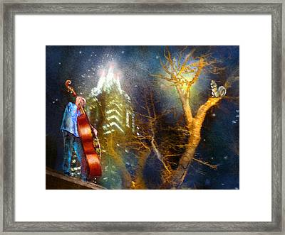 Austin Nights 02 Framed Print by Miki De Goodaboom