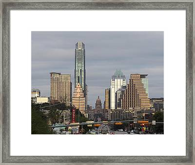 Austin Framed Print by Rona Black