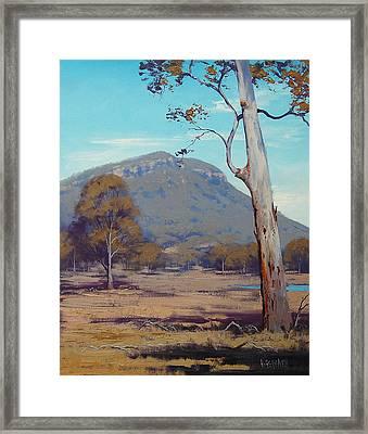 Australian Summer Hartley Framed Print by Graham Gercken
