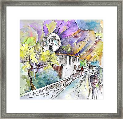Autol In La Rioja Spain 03 Framed Print by Miki De Goodaboom