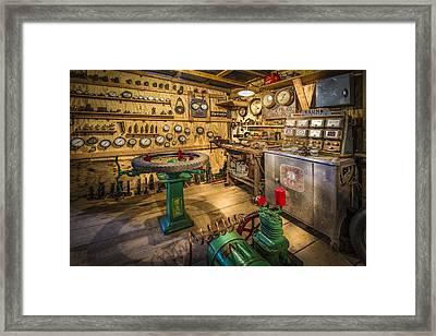 Automobile Electronics Framed Print by Debra and Dave Vanderlaan