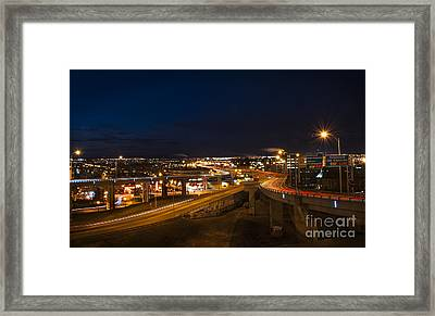 Autoroute 440 Framed Print by Audrey Wilkie