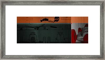 Autounion 1 Framed Print by Naxart Studio
