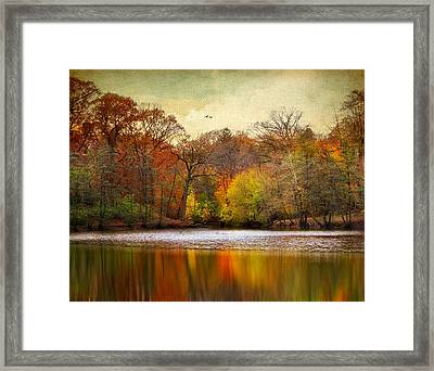Autumn Arises 2 Framed Print by Jessica Jenney
