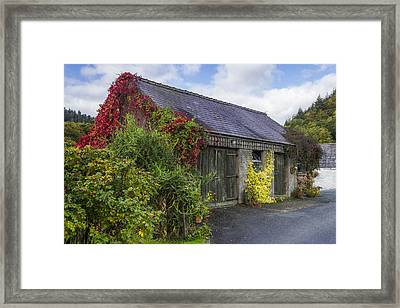 Autumn Barn Framed Print by Ian Mitchell