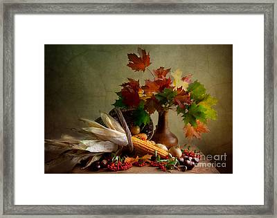 Autumn Colors Framed Print by Nailia Schwarz