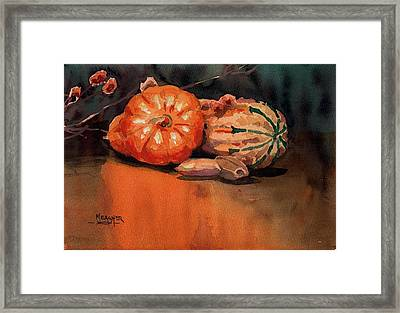 Autumn Colors Framed Print by Spencer Meagher