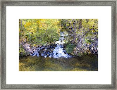 Autumn Comes To Oak Creek Framed Print by Gary Kaylor