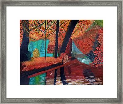 Autumn Dreams Framed Print by Magdalena Frohnsdorff