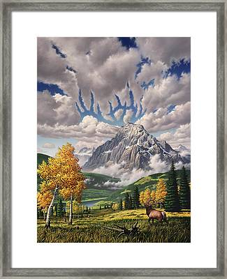 Autumn Echos Framed Print by Jerry LoFaro
