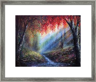 Autumn Glory Framed Print by Ann Marie Bone