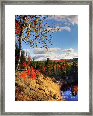 Autumn In Arrowhead Provincial Park Framed Print by Oleksiy Maksymenko