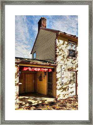 Autumn In Metamora Indiana 2 Framed Print by Tri State Art