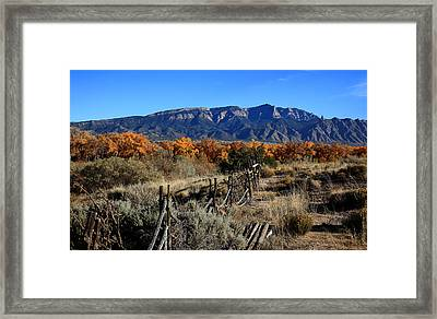 Autumn In New Mexico Framed Print by Anthony Sekellick