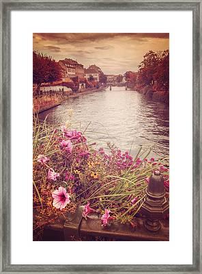 Autumn In Strasbourg  Framed Print by Carol Japp