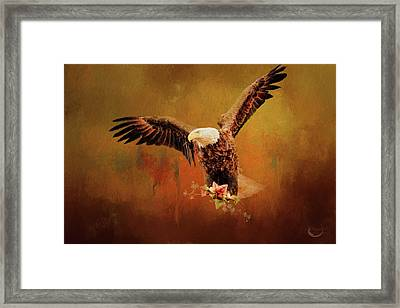 Autumn Is Coming Framed Print by Theresa Campbell