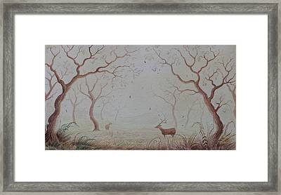 Autumn Framed Print by Jamie Patterson