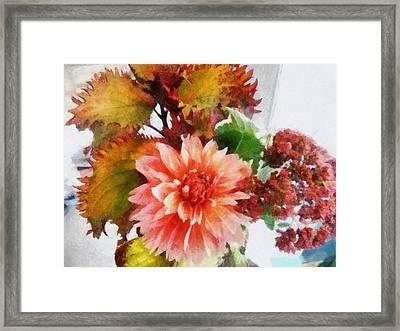 Autumn Joy Framed Print by Michelle Calkins