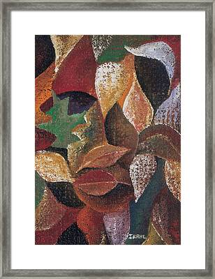 Autumn Leaves Framed Print by Ikahl Beckford