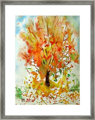 Autumn Leaves Framed Print by Pete Maier
