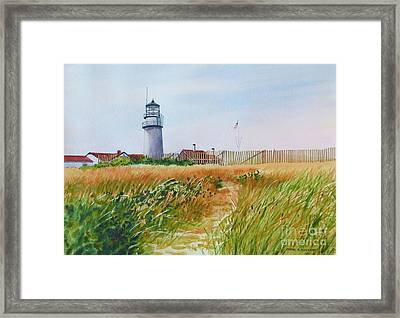 Autumn Light Framed Print by Karol Wyckoff