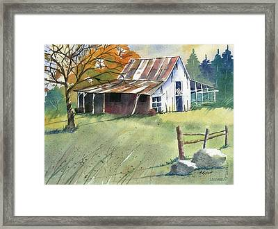 Autumn Framed Print by Marsha Elliott