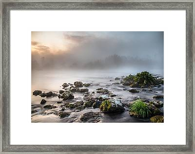 Autumn Morning Framed Print by Davorin Mance