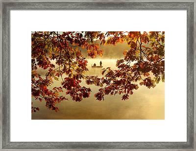 Autumn Nostalgia Framed Print by Rob Blair
