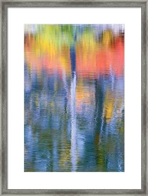 Autumn Resurrection Framed Print by Mike  Dawson