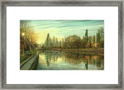 Autumn Serenity Framed Print by Doug Kreuger