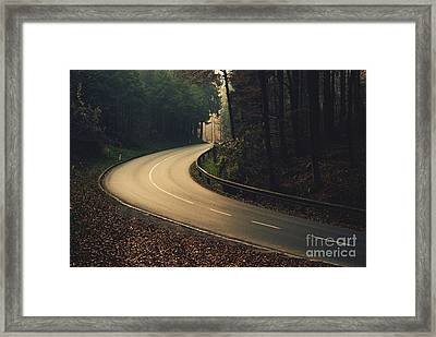 Autumn Framed Print by Sick Michael