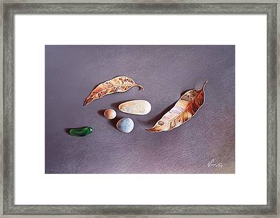 Autumn Still Life Framed Print by Elena Kolotusha