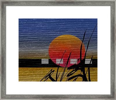 Autumn Sun  Framed Print by Gordon Beck