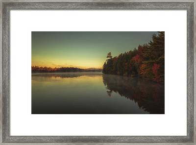 Autumn Sunrise Framed Print by Chris Fletcher