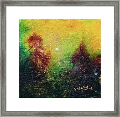 Autumnal Mystery Framed Print by Donna Blackhall
