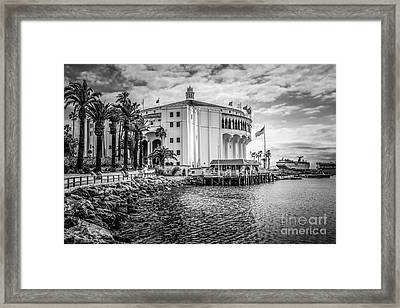 Avalon Casino Catalina Island Picture Framed Print by Paul Velgos