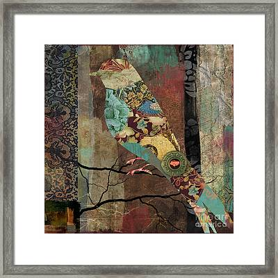 Aviary I Framed Print by Mindy Sommers
