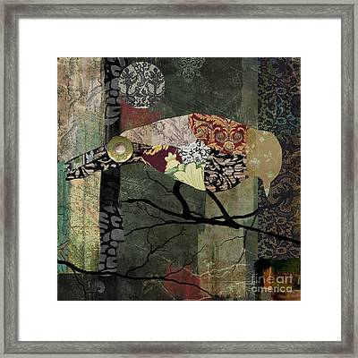 Aviary II Framed Print by Mindy Sommers