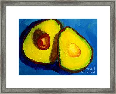 Avocado Palta IIi Framed Print by Patricia Awapara