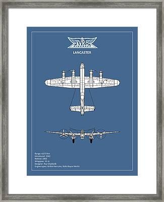 Avro Lancaster Framed Print by Mark Rogan
