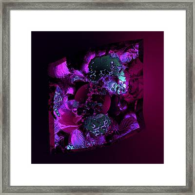 Aw 13 Lovers Hiding Framed Print by Claude McCoy
